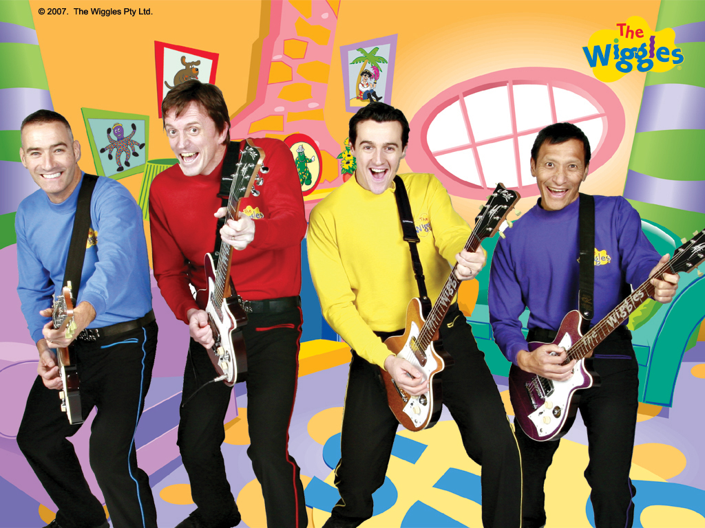 WIGGLES images The Wiggles With Guitars In Wiggle House HD wallpaper ...