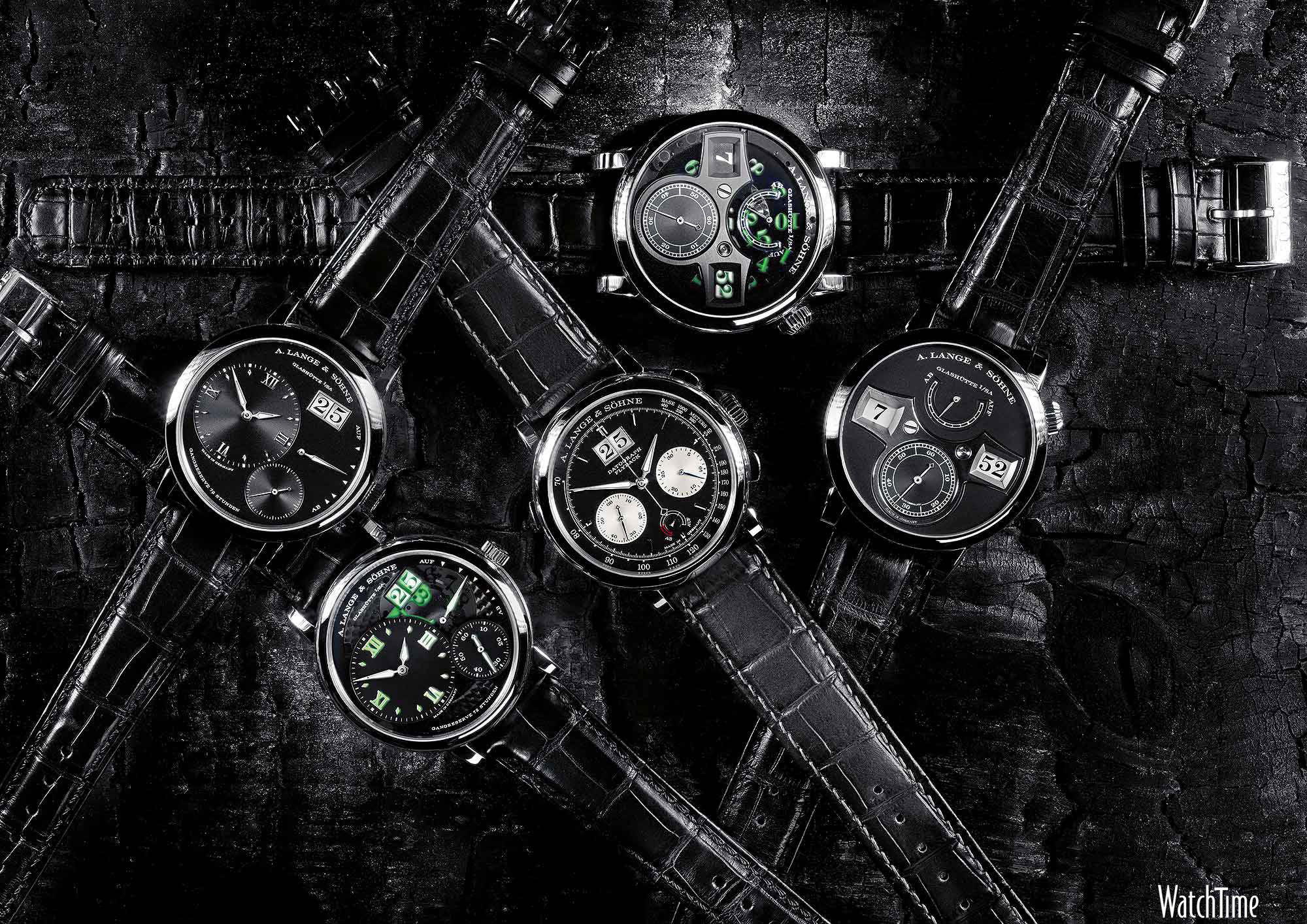 Watch Wallpaper: A. Lange & Söhne Watches in Basic Black ...