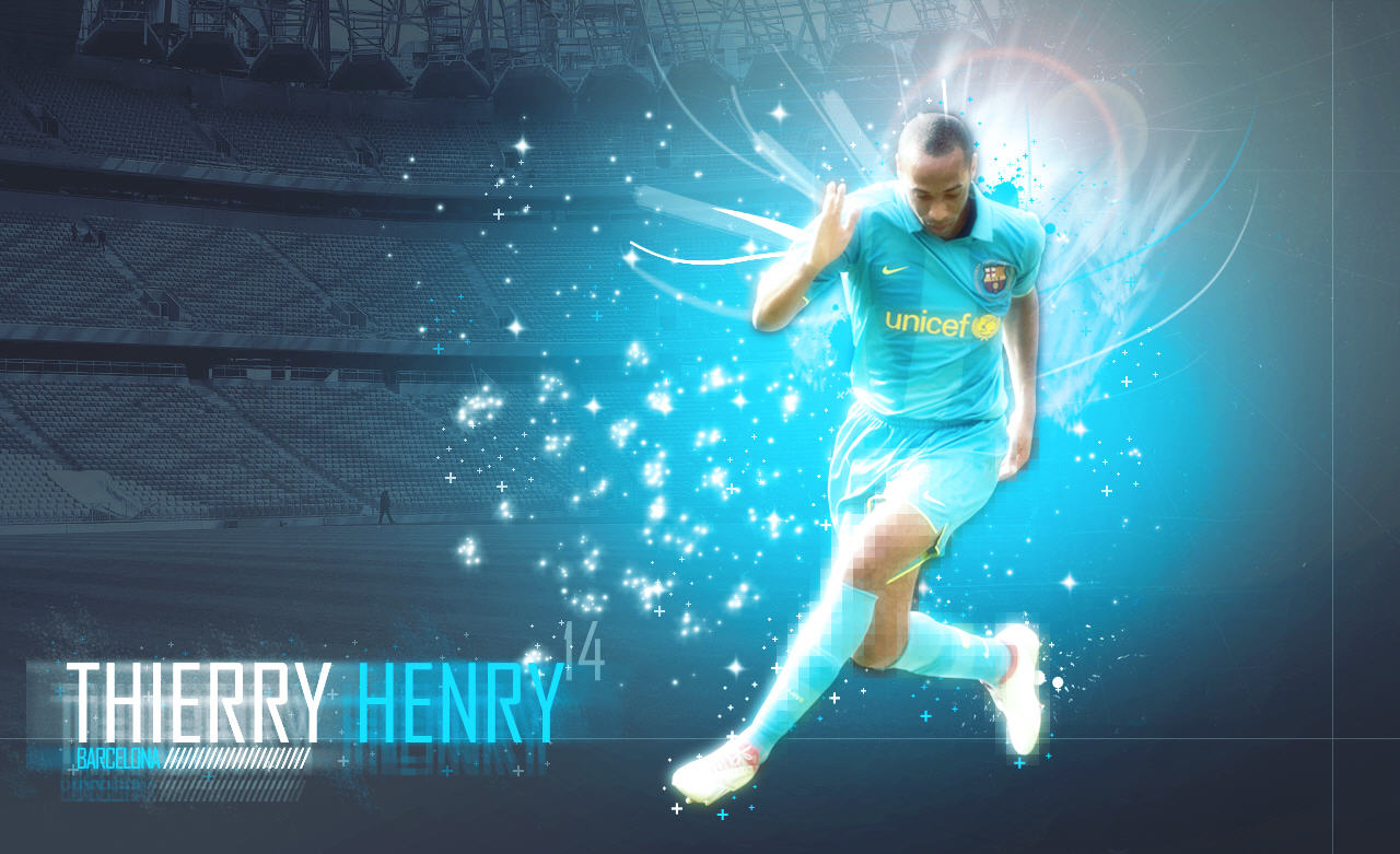 FOOTBALL PLAYERS WALLPAPERS: Thierry Henry Wallpapers