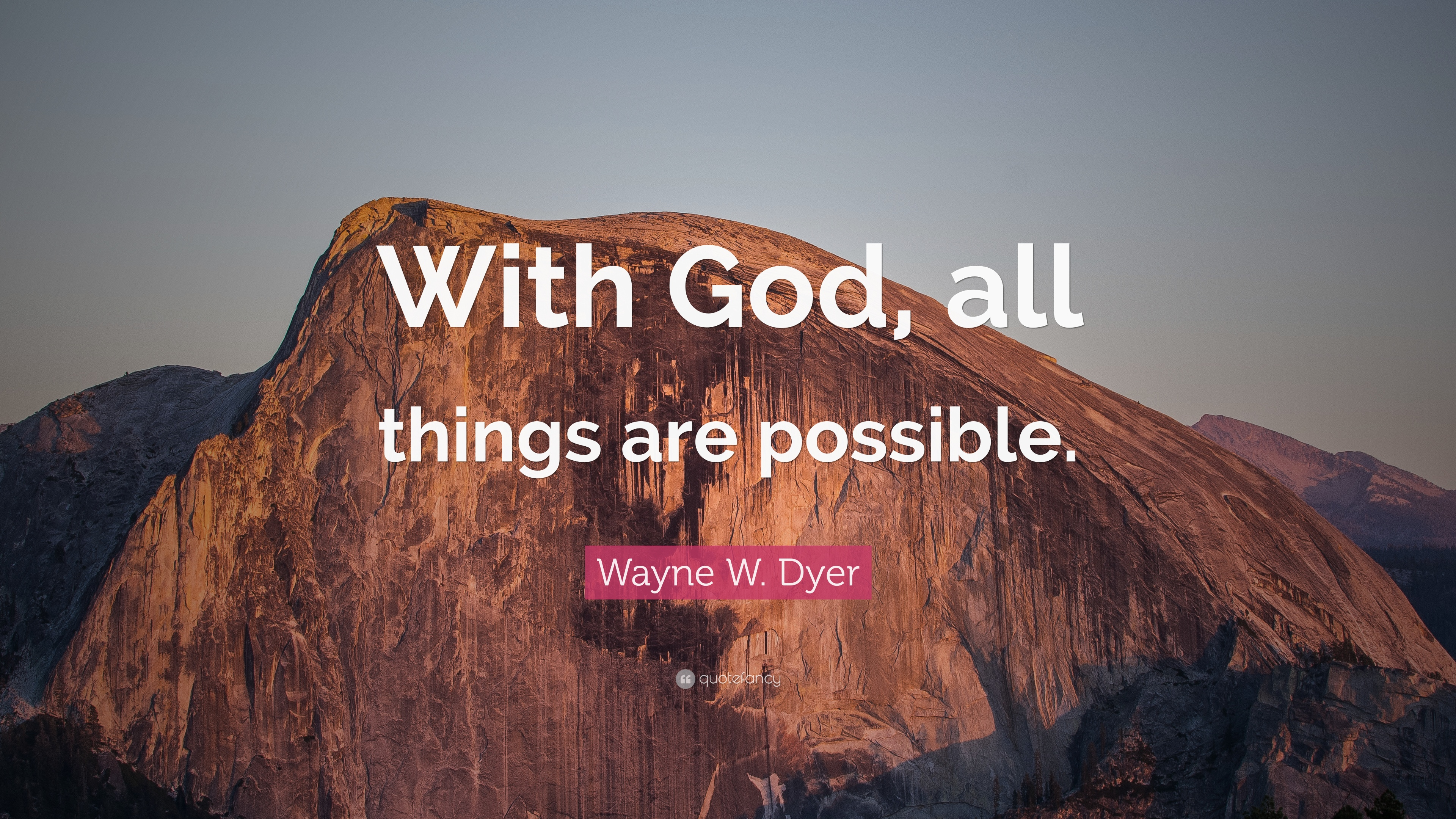 With God All Things Are Possible Wallpaper | www.galleryhip.com - The ...