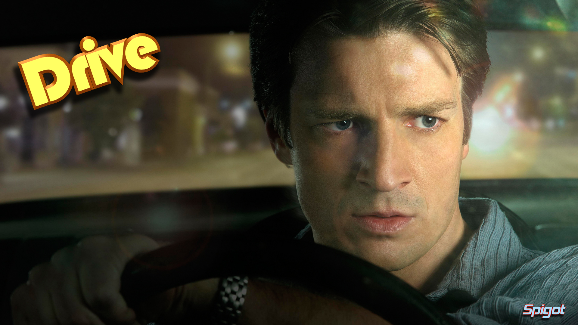 Nathan Fillion Drive wallpaper - 993803