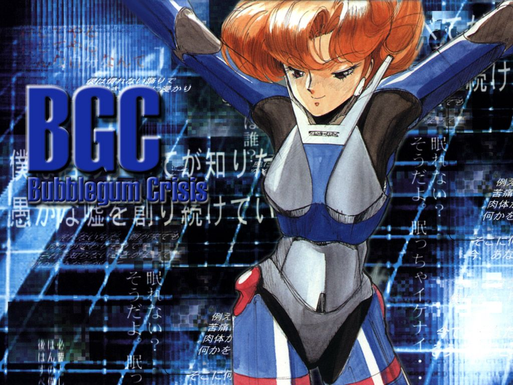 bubblegum crisis «1024x768 «Anime wallpapers «Anime wallpapers