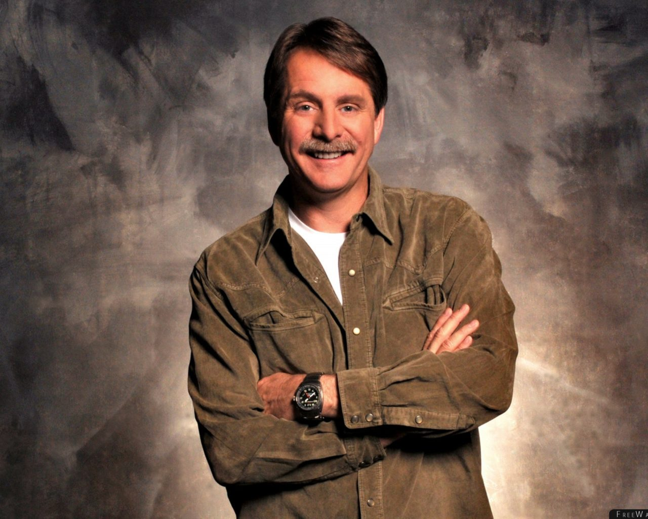 Jeff Foxworthy Shirt Watches Mustache Smile Wallpaper - Free ...