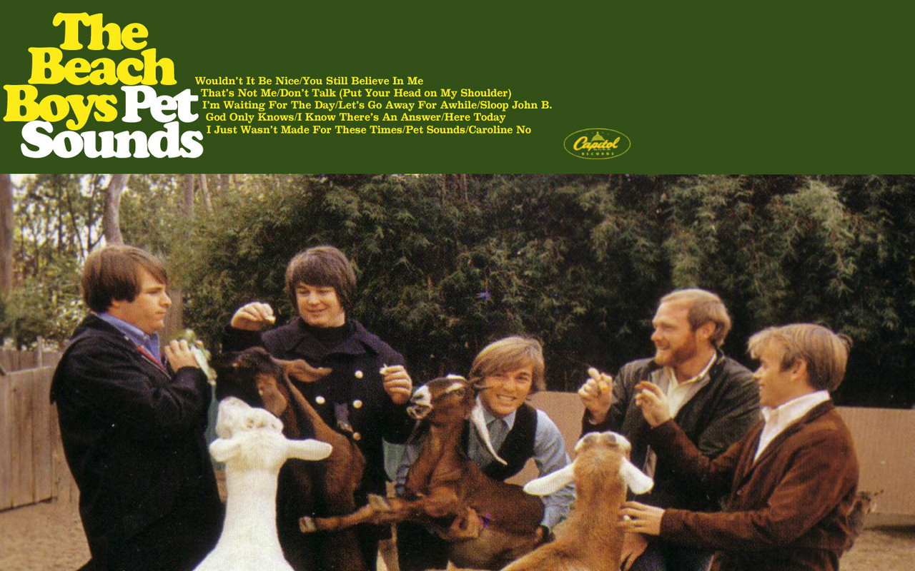 Posted 3 years ago & Filed under the beach boys , pet sounds , 13 ...