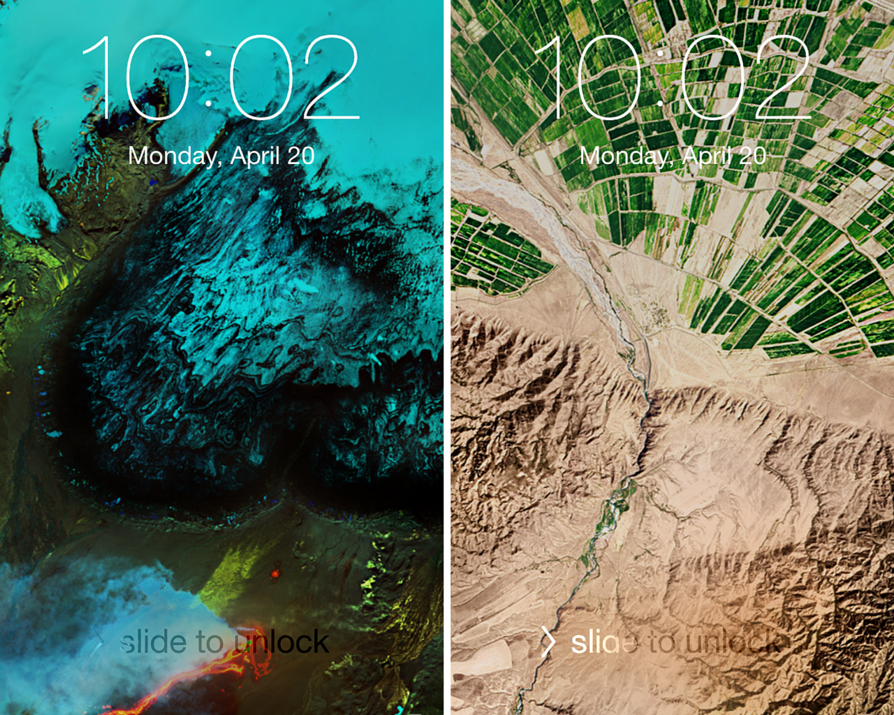 This wallpaper site curates the best satellite images from Earth and ...