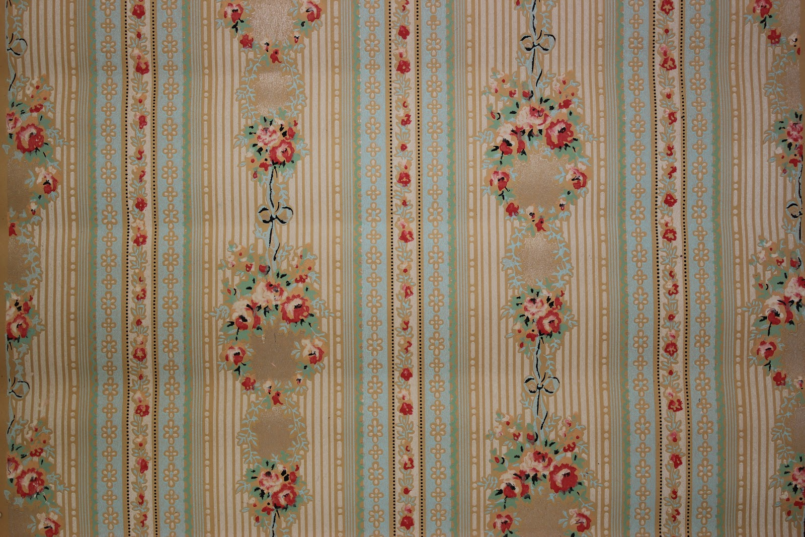 Rosie's Vintage Wallpaper: My Love for Vintage Wallpaper