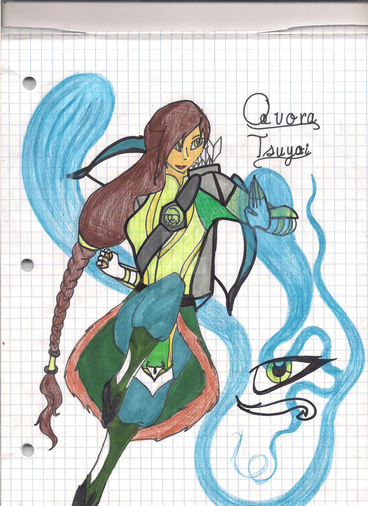 Quora Tsuyoi by JackieWinters on DeviantArt