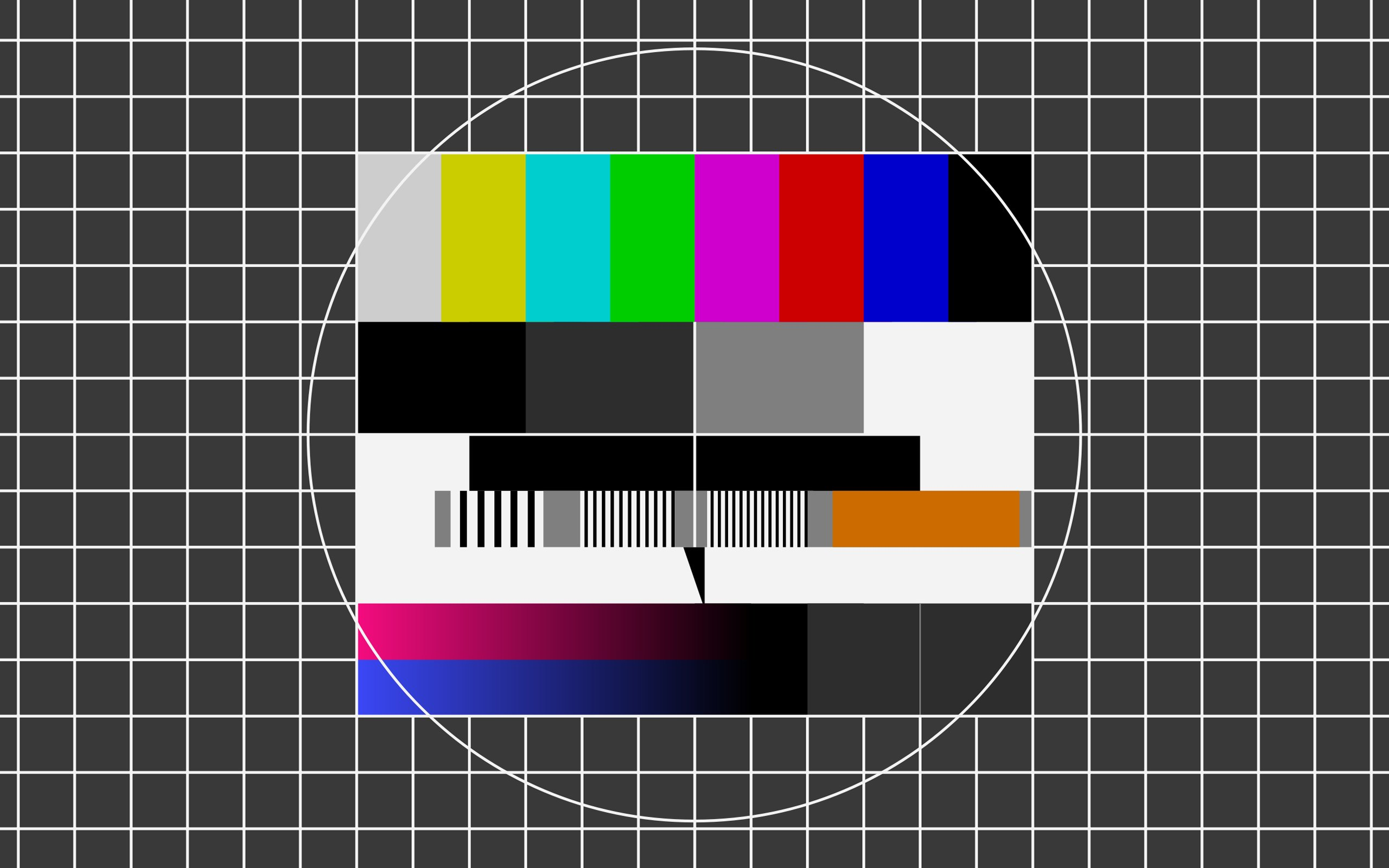 Broadcast test pattern wallpaper | 2560x1600 | 235641 | WallpaperUP