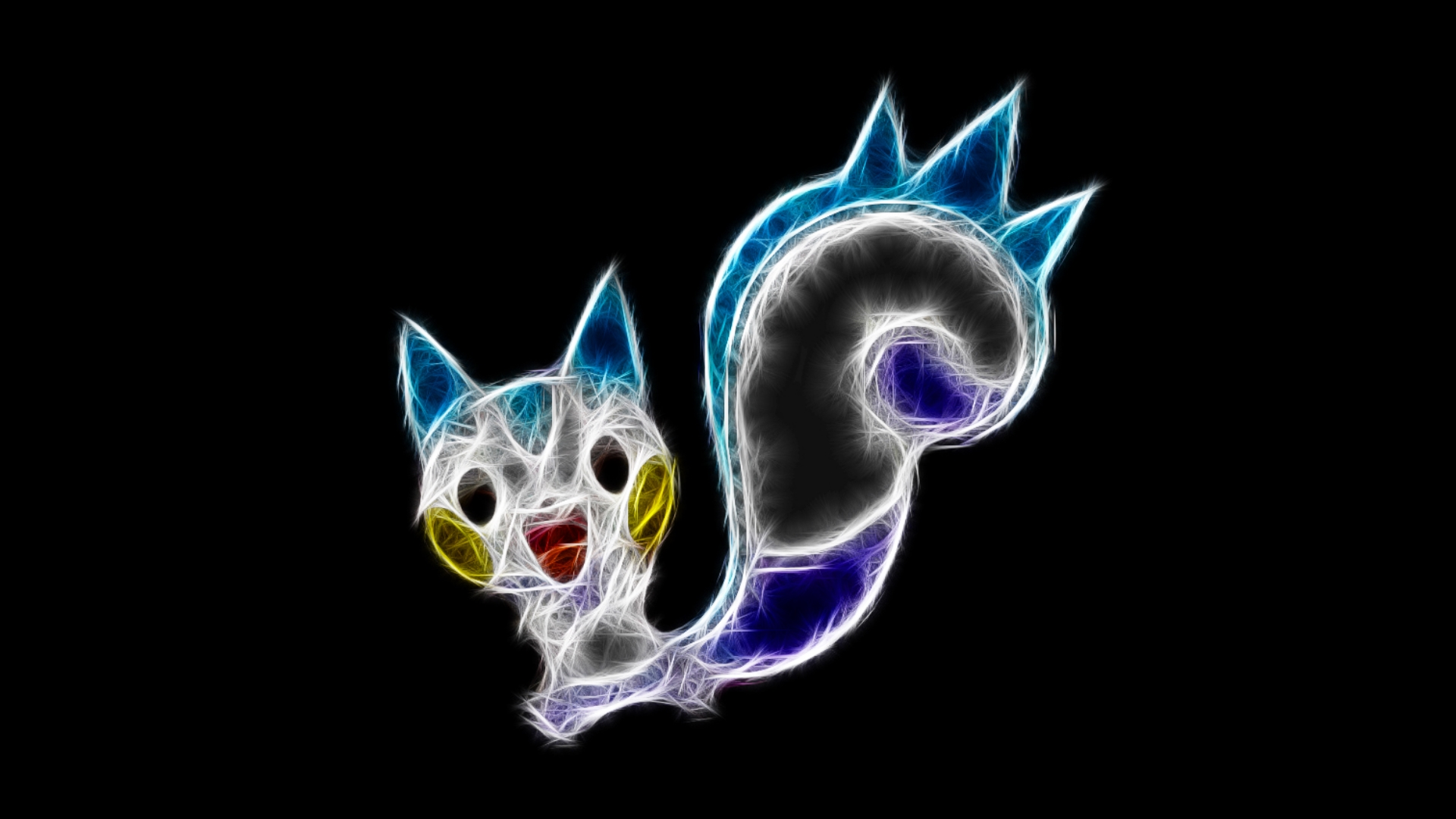 Pachirisu2 by TheBlackSavior on DeviantArt