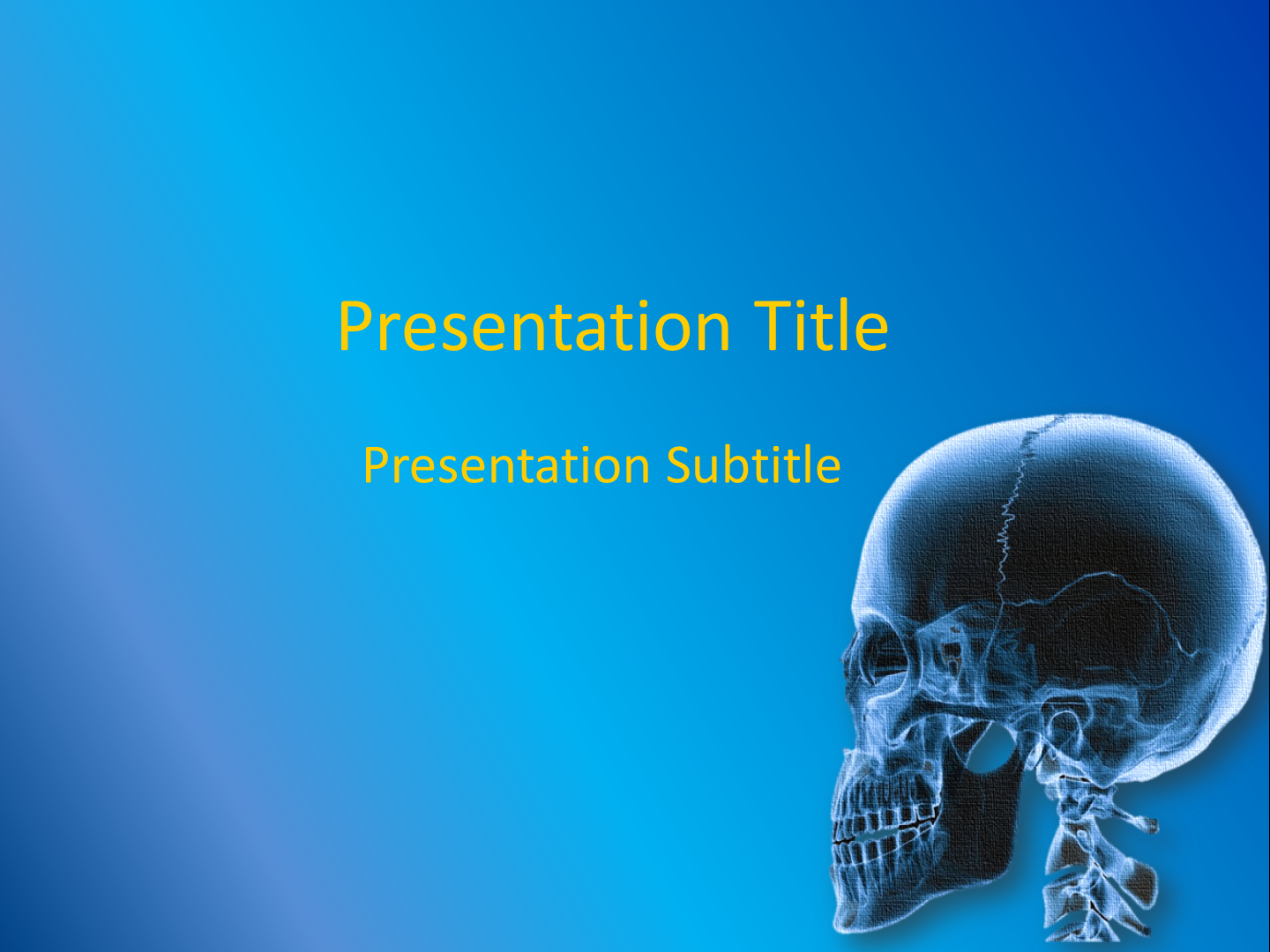 PowerPoint Template - Free Download ~ Free Medical PowerPoint ...