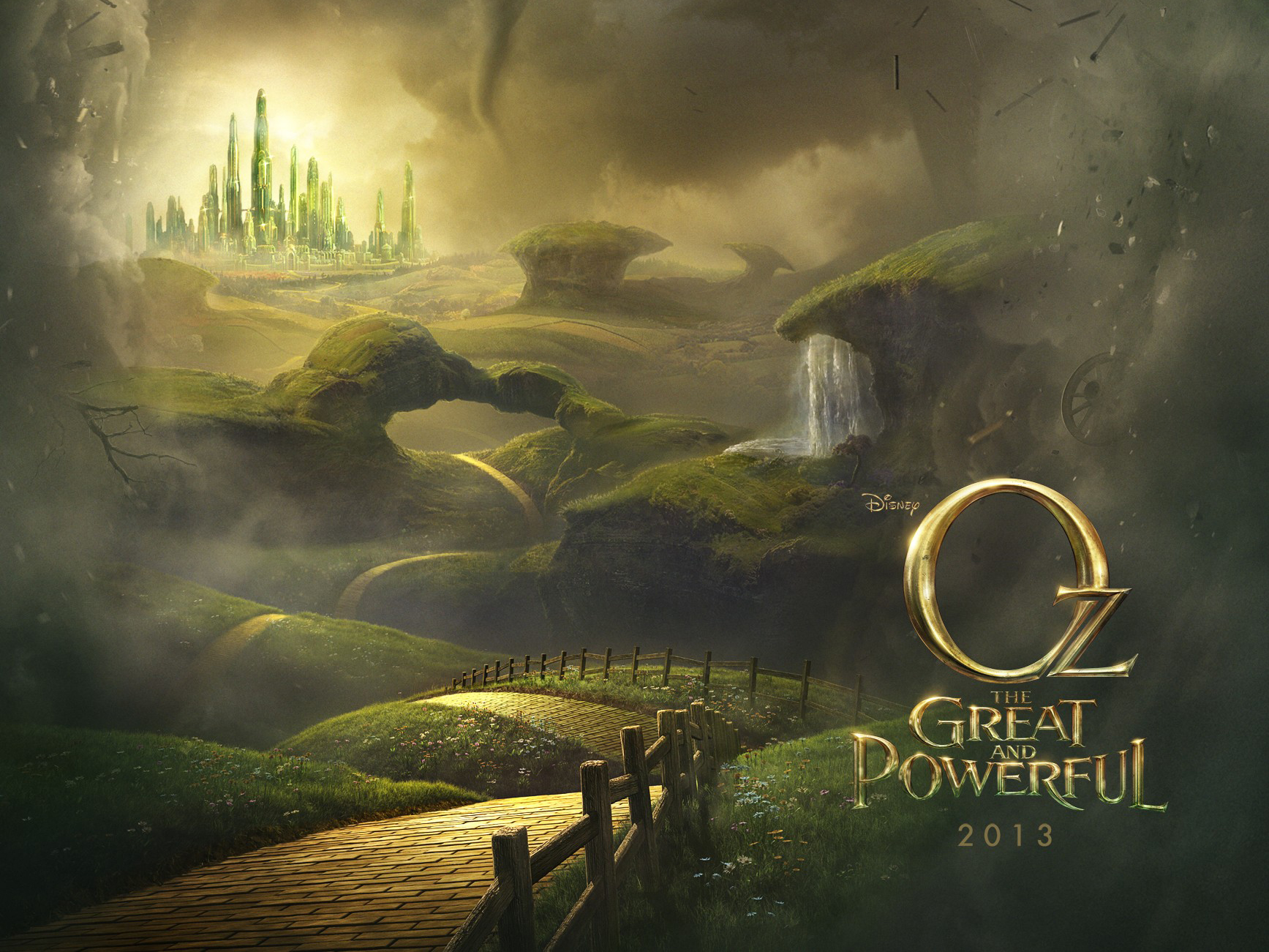 Oz The Great and Powerful wallpapers 1735×1301-001