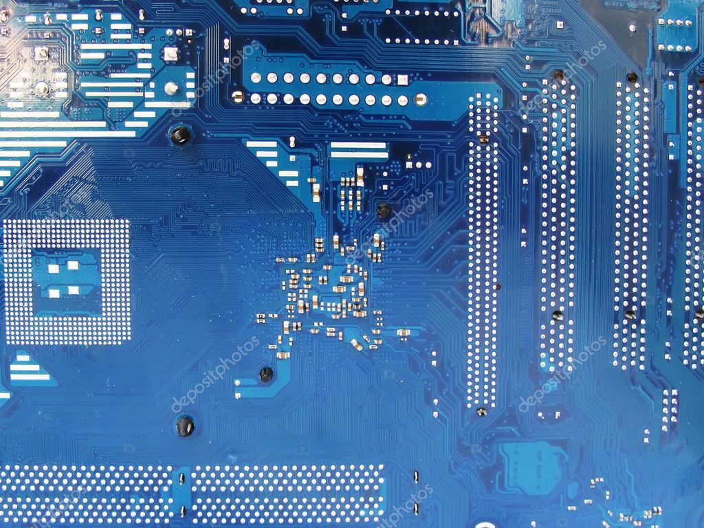 Abstract motherboard card background. New technologies — Stock Photo ...