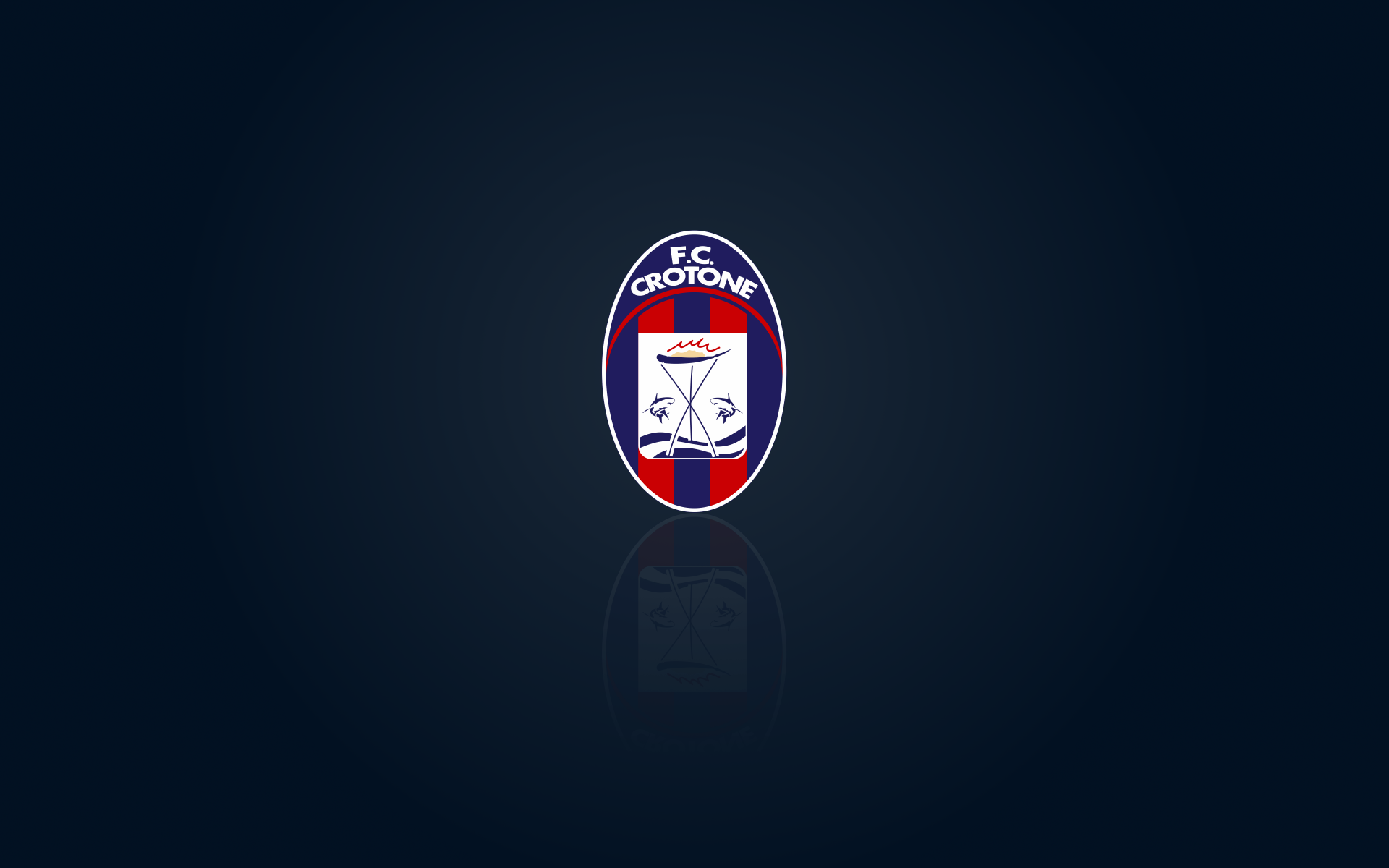 FC Crotone wallpaper with logo – 1920x1200px: