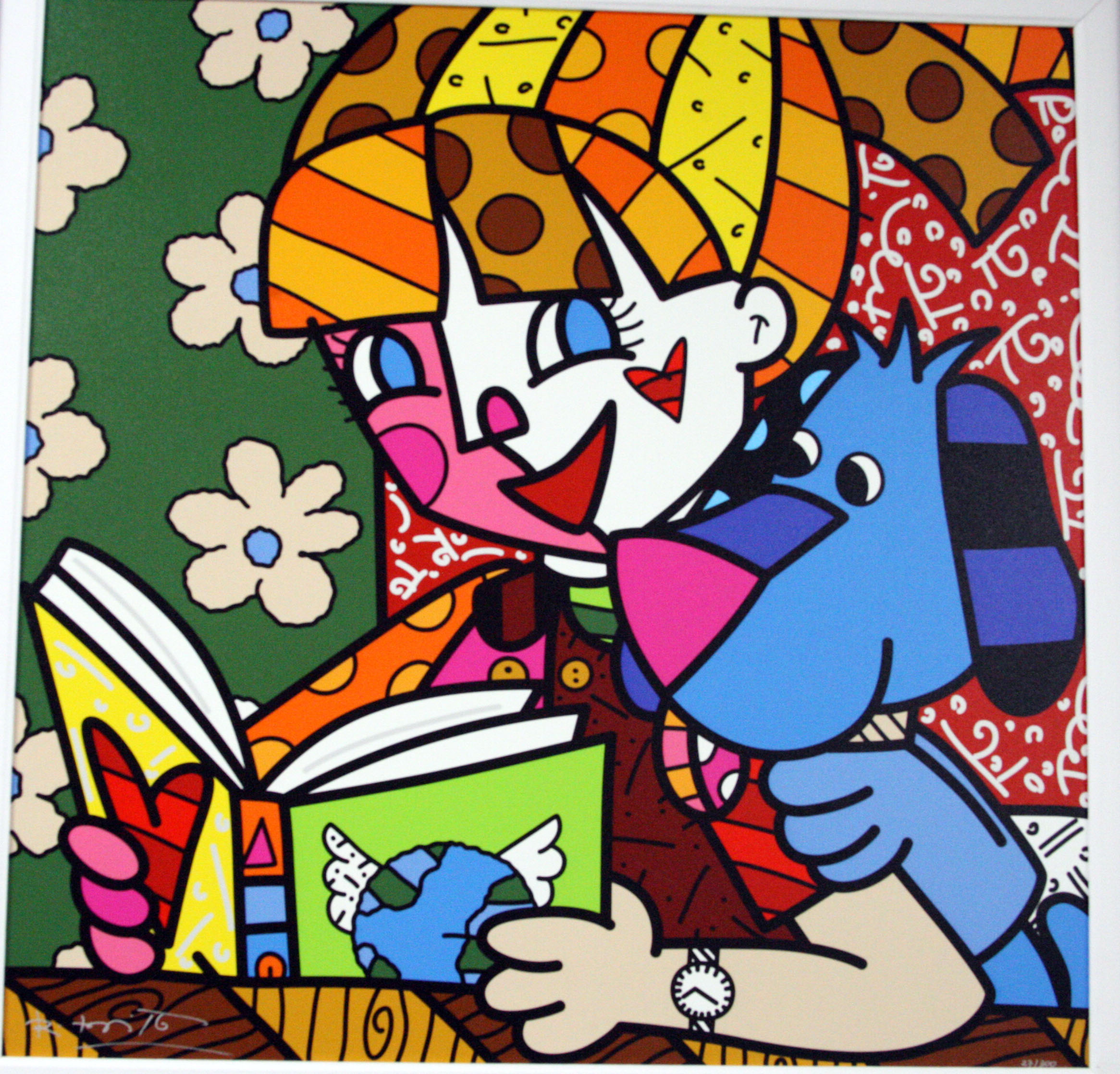 Romero Britto Wallpaper With 1920x1080 Resolution Pictures to pin on ...