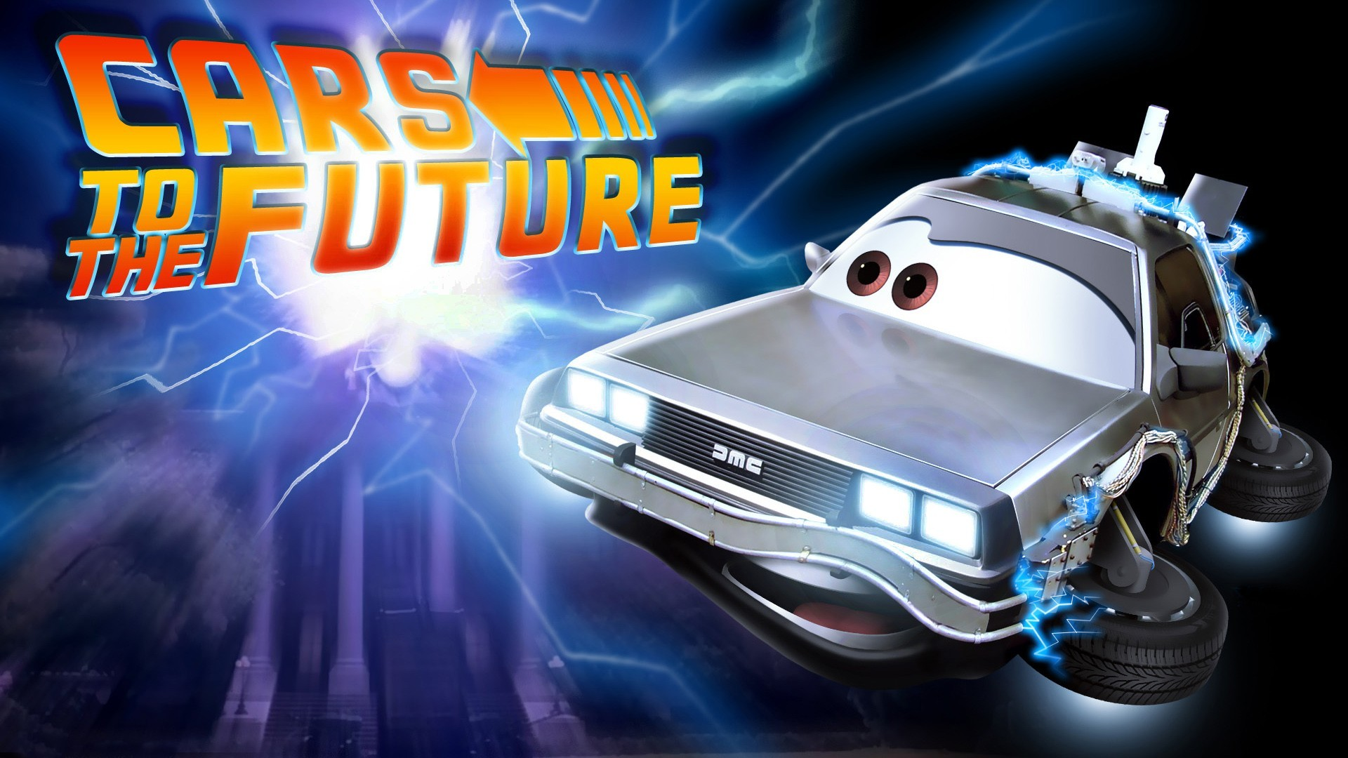 Cars future back to the widescreen wallpaper | AllWallpaper.in #782 ...