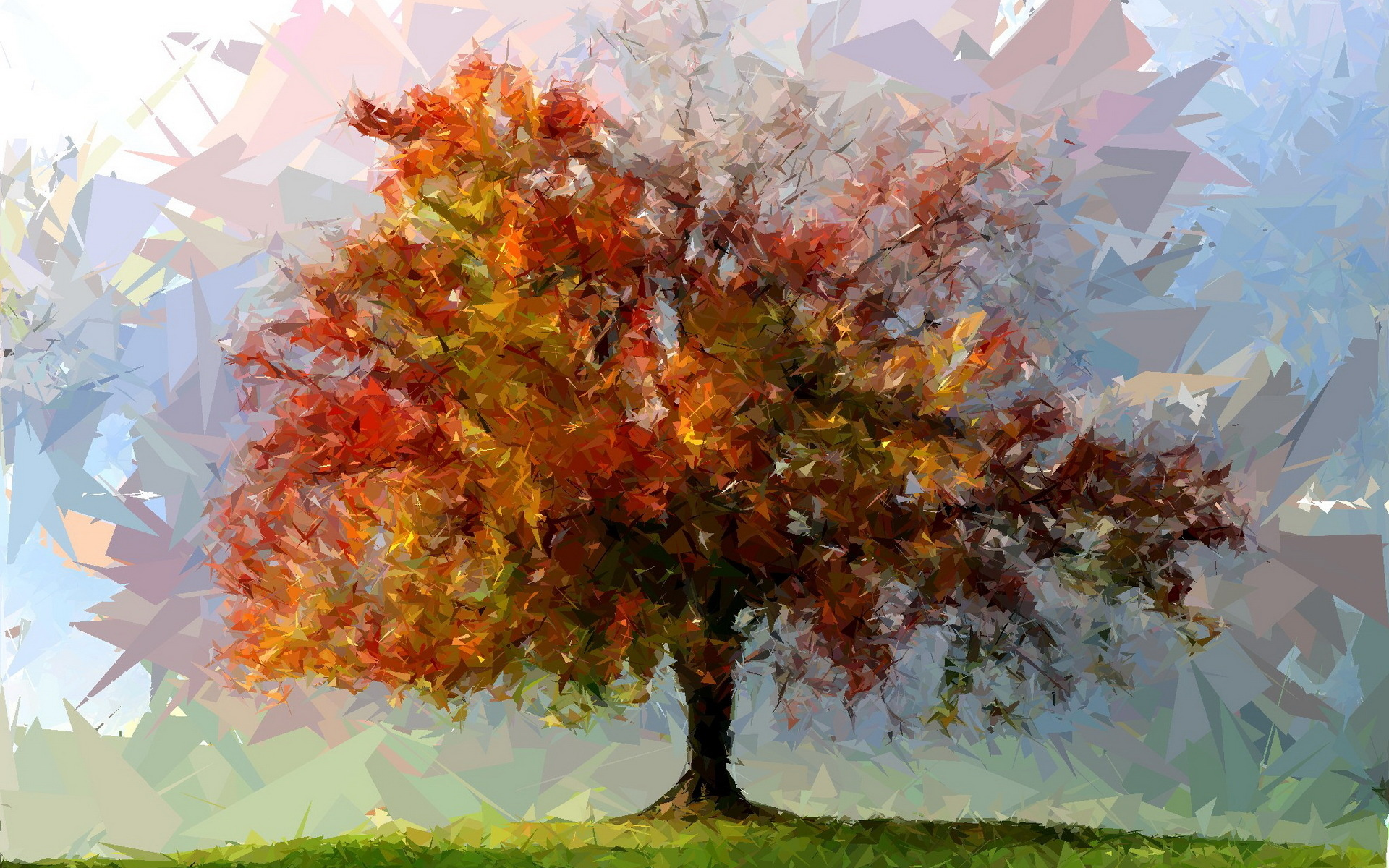 1920x1200 Nature Tree Landscape Art Artwork Artistic Wallpapers