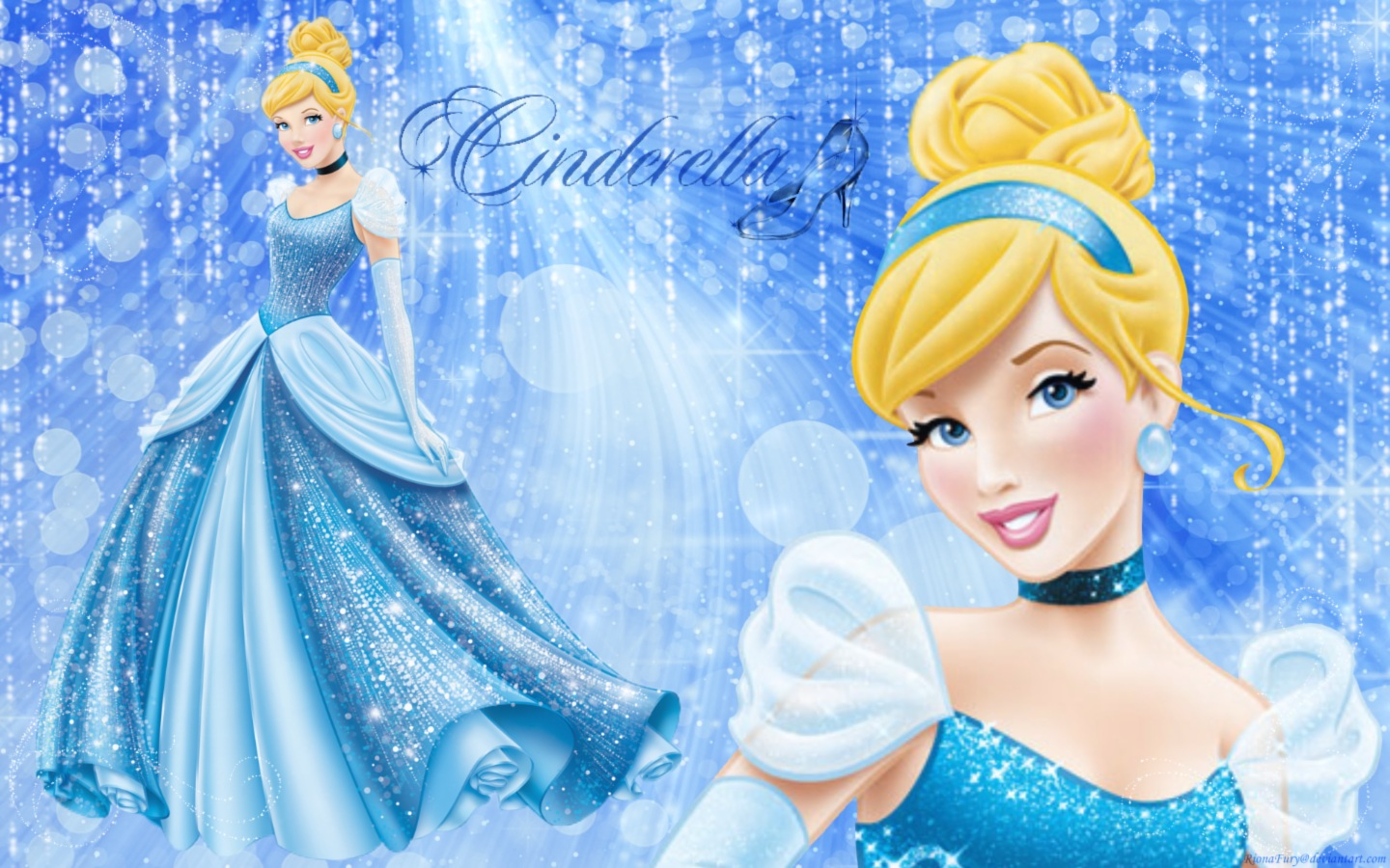 ... - Disney Hd Wallpaper Cinderella Background World Disney Hd Download