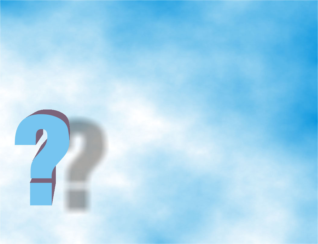 Free Blue Question Backgrounds For PowerPoint - Border and Frame PPT ...