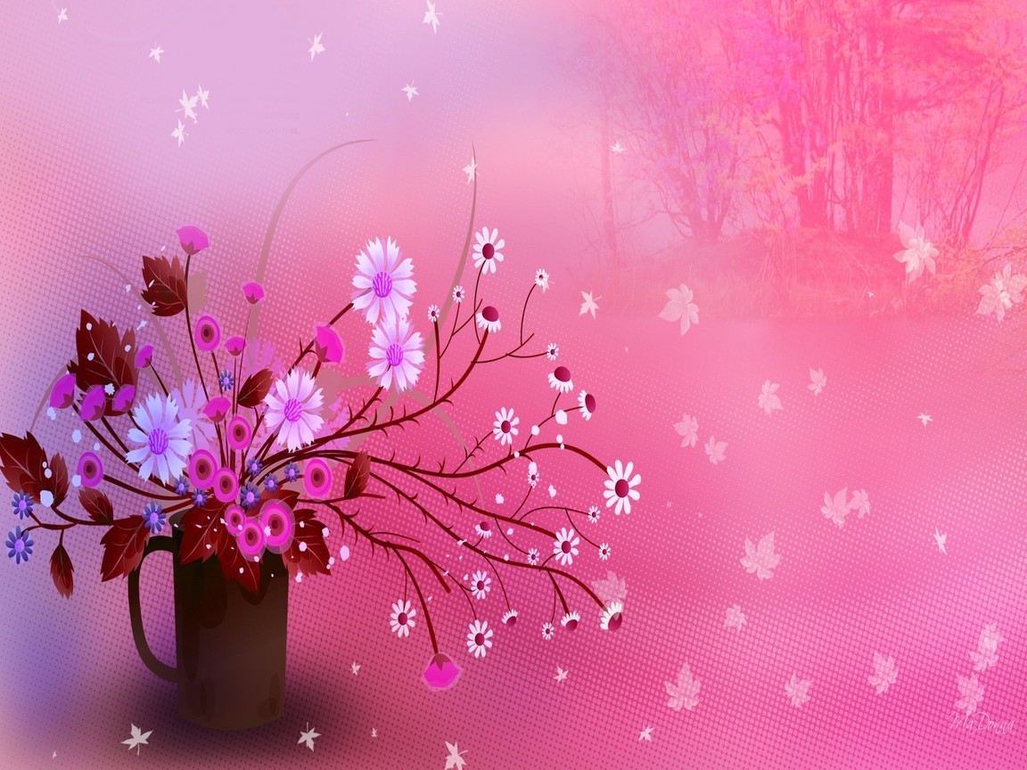 ... Girly Wallpapers Pink Desktops Lovely Ipad Ipod Smartphone Backgrounds