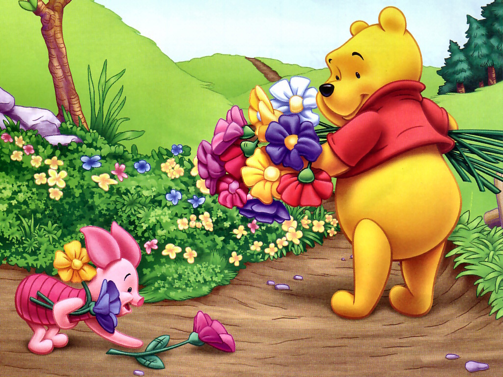 the Pooh images Winnie the Pooh and Piglet Wallpaper HD wallpaper ...