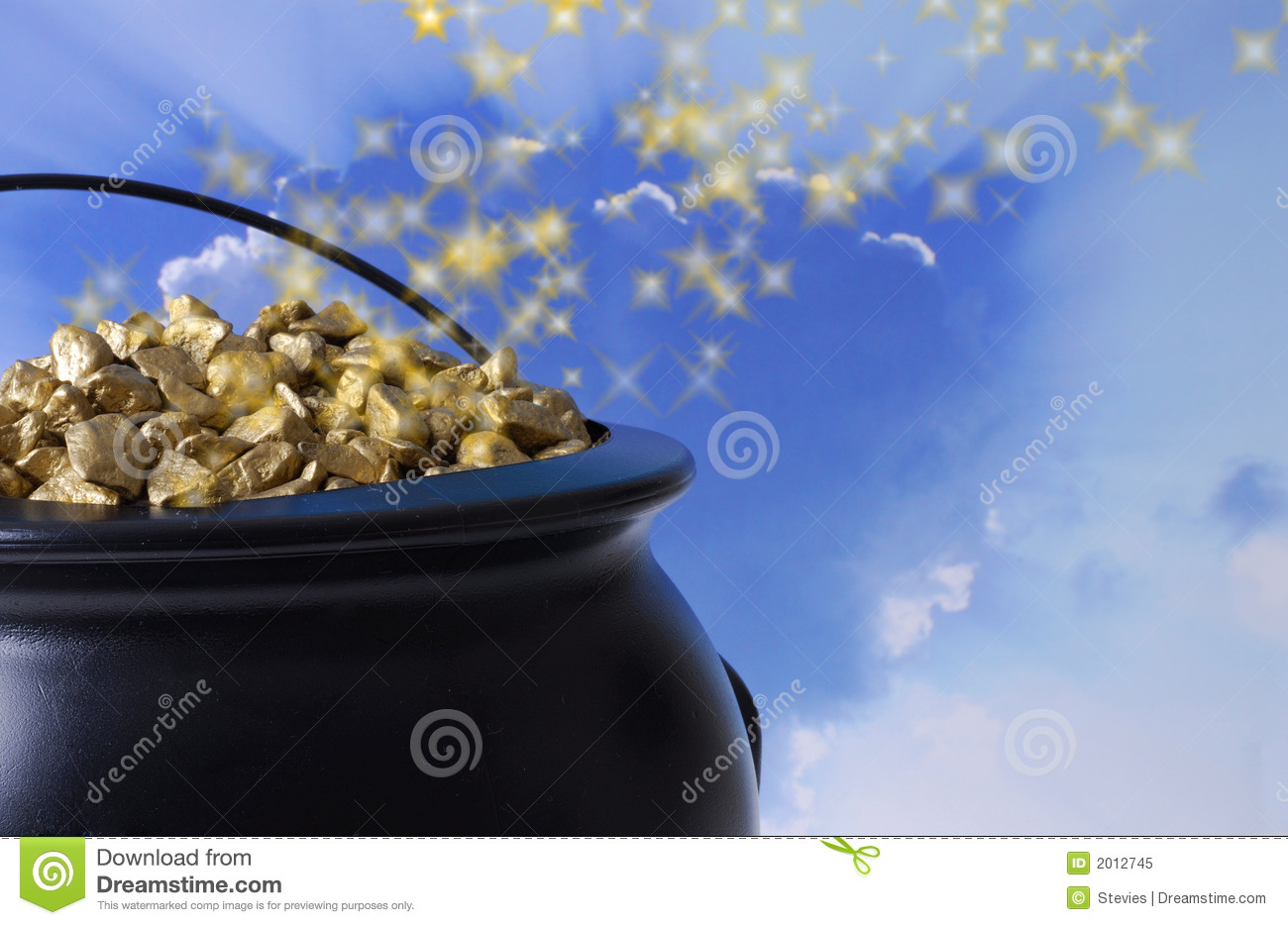 Pot of Gold Background - Bing images