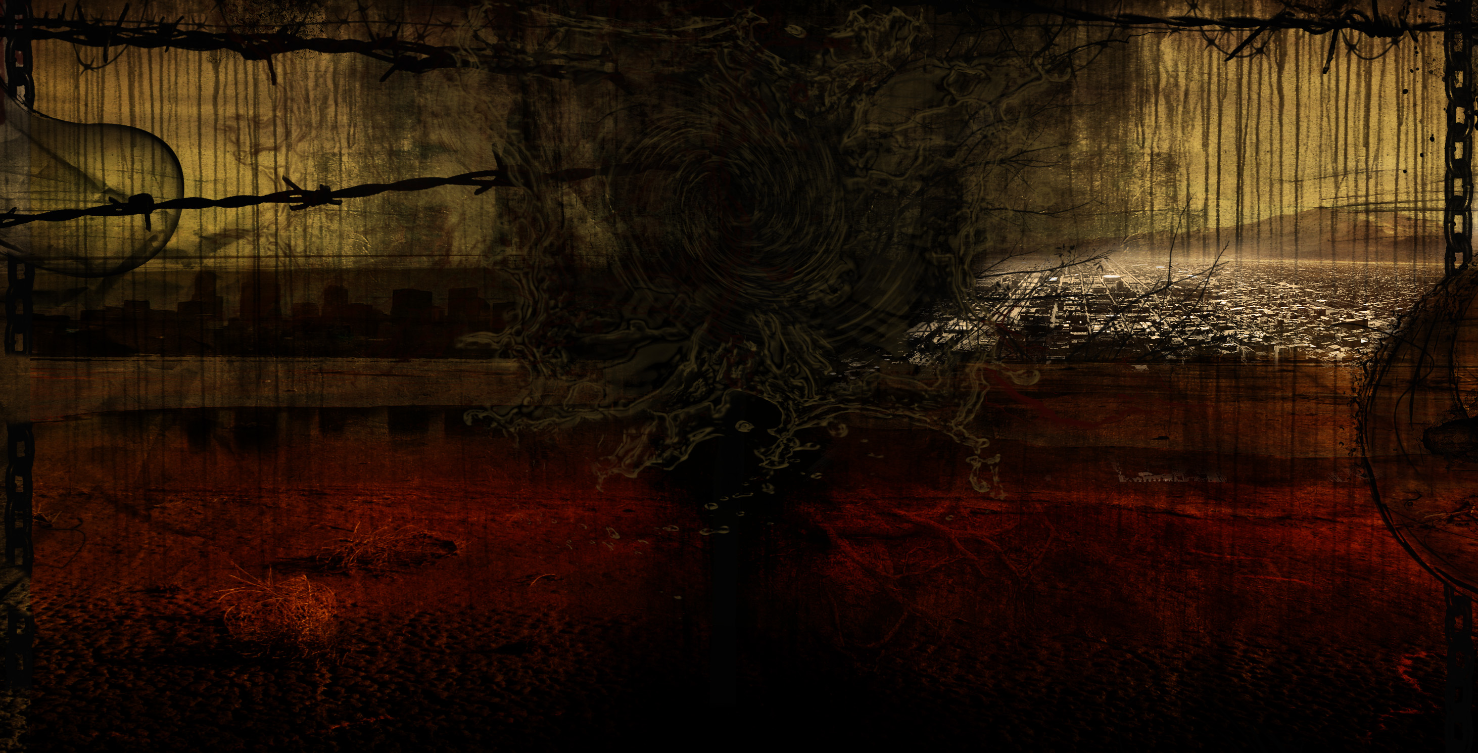 esoteric background by black art watch digital art photomanipulation ...