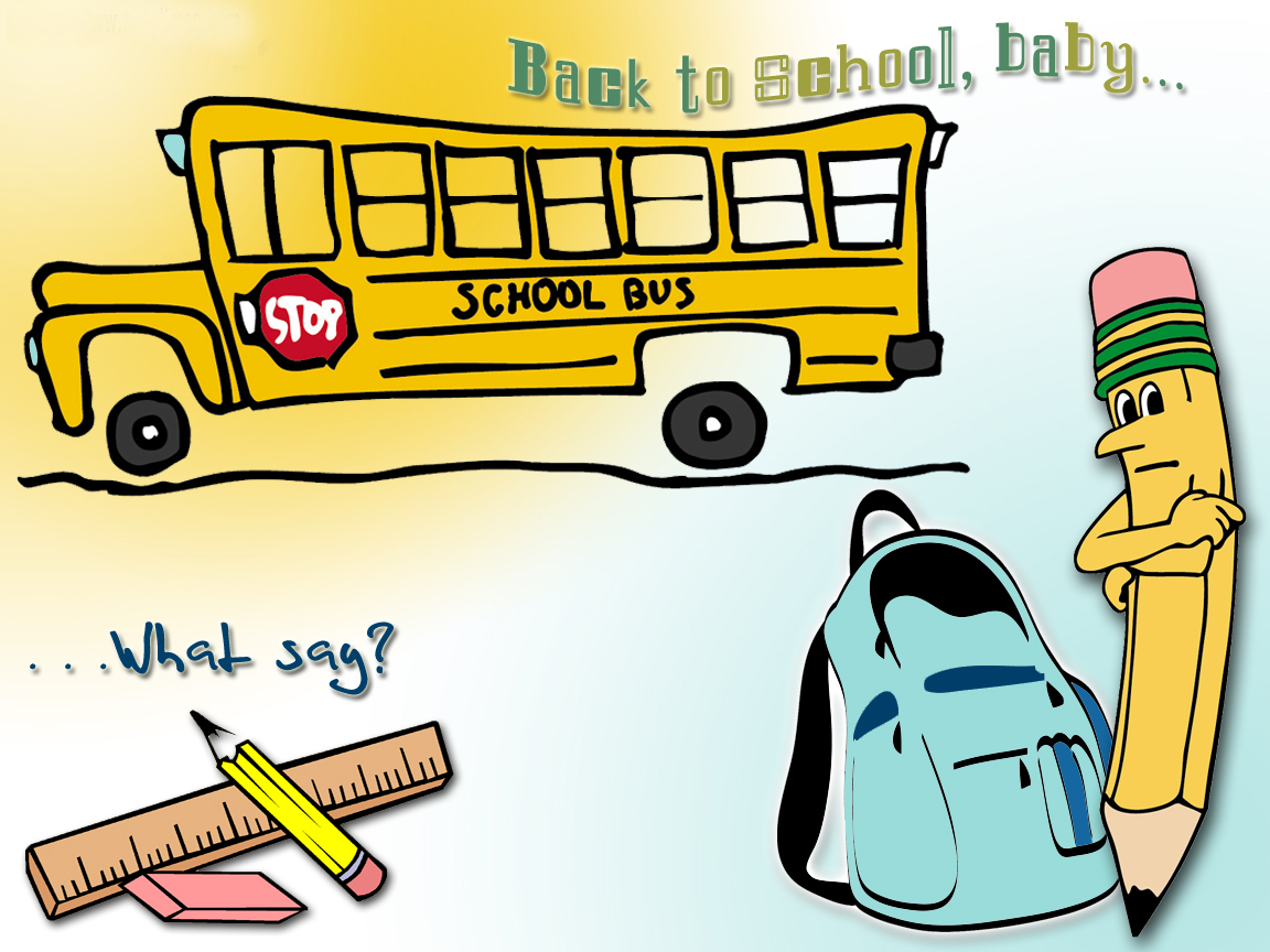 HD Back to School Wallpapers and Back to School Backgrounds Free ...