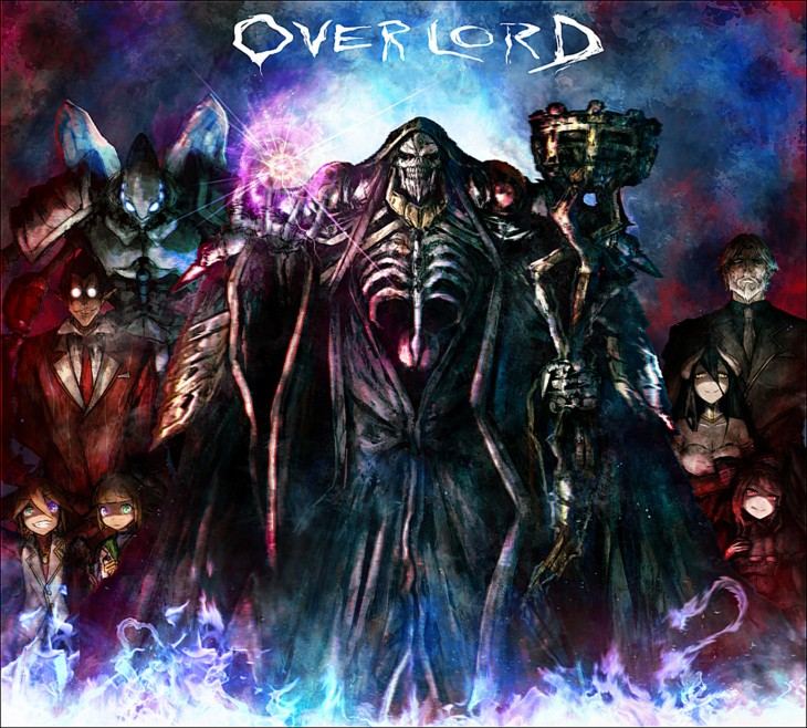 1366x1233 ... Overlord) Cocytus (Overlord) Ainz Ooal Gown Overlord (Anime) Wallpaper