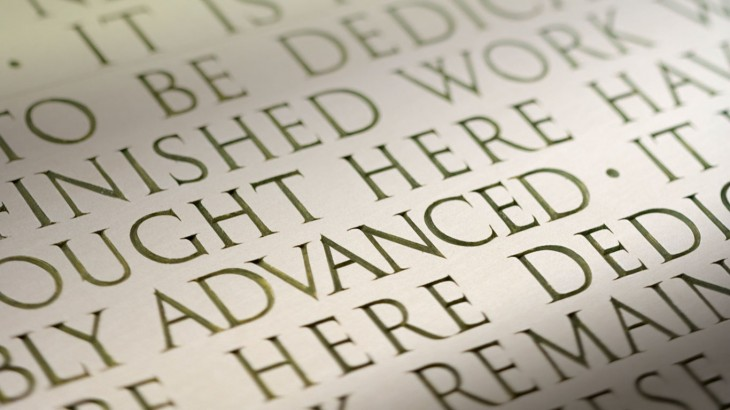 1366x768 Engraving of the Gettysburg Address at the Lincoln Memorial ...