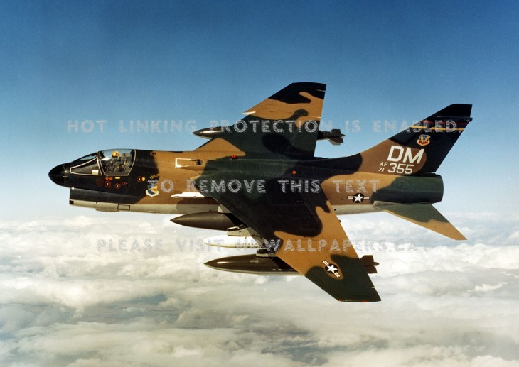 1200x850 A7-d corsair ii tactical strike usaf bomber:High Contrast