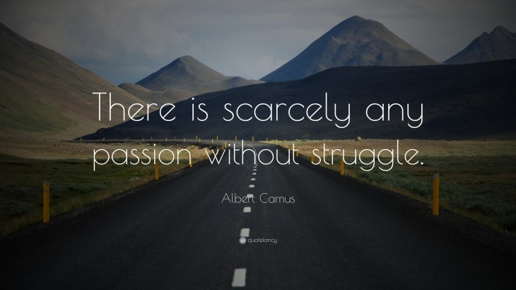 """3840x2160 ... scarcely any passion without struggle."""" (20 wallpapers) - Quotefancy"""