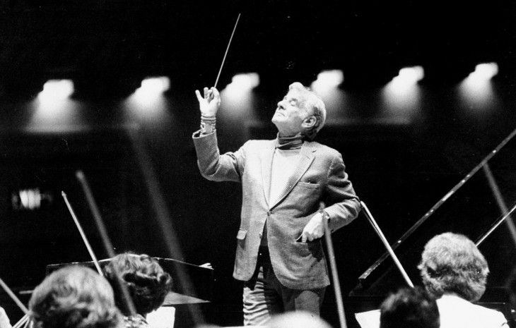 2048x1307 Displaying 17> Images For - Leonard Bernstein Conducting...