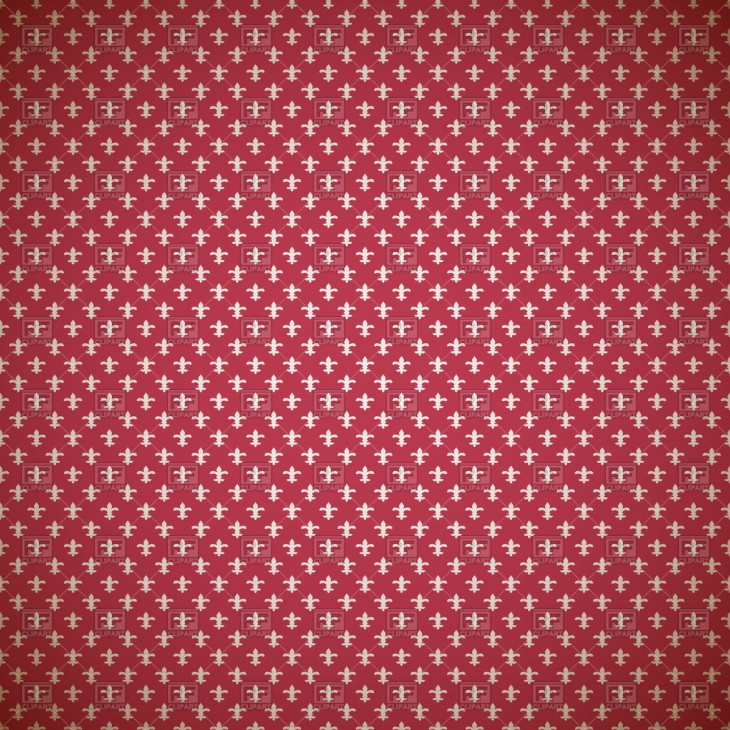1200x1200 red background with french heraldic symbol Fleur De Lys, Backgrounds ...