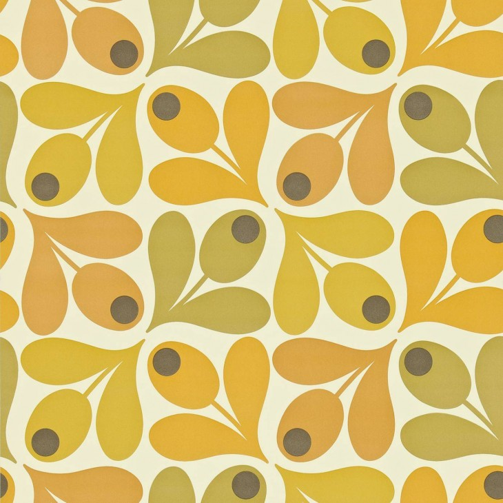 1386x1386 Wallpapers Harlequin Orla Kiely Wallpapers Multi Acorn Spot Wallpaper ...