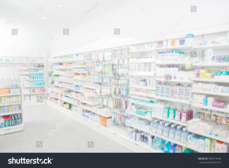 1500x1101 Pharmacy Interior With Blurred Background Stock Photo 304514456 ...