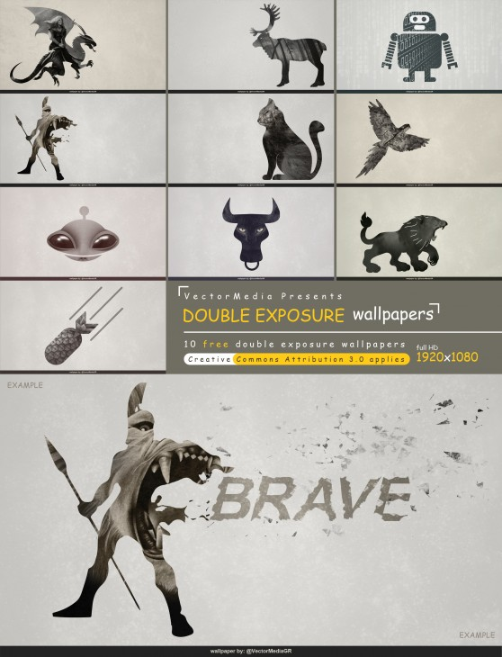 1920x2508 10 Free] Double Exposure Wallpapers - By VM by VectorMediaGR on ...