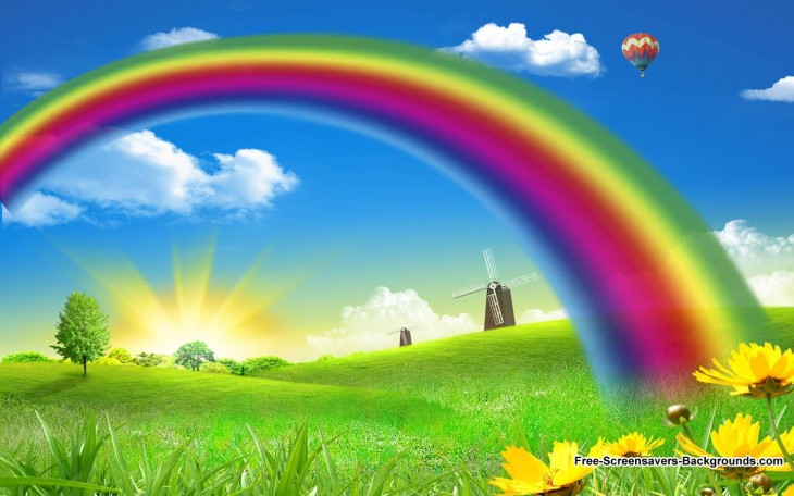 1440x900 Rainbow Wallpaper - rainbows Wallpaper