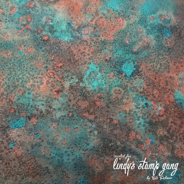 2166x2166 Faux Verdigris or Patina Background | Lindy's Stamp Gang