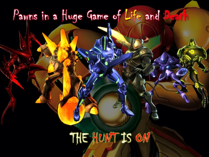 1024x768 Metroid Prime Hunters by omega-ridley on DeviantArt