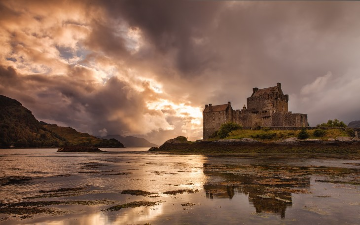 3840x2400 ... Castle, Scotland wallpapers and images - wallpapers, pictures, photos