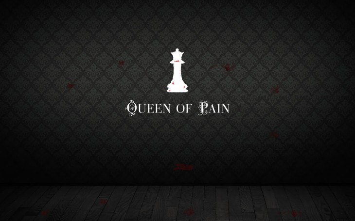 1600x1000 Wallpapers: Dota 2 Wallpaper - Queen of Pain Minimalistic Wallpaper ...